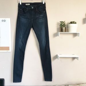 AG The Farrah Skinny High Rise Stretch Jeans SZ 26